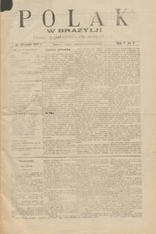 Polak w Brazylji : pismo tygodniowe dla wszystkich. R.5, nr 5 (29 stycznia 1909) + dod.