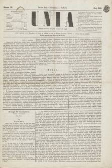 Unia. [R.1], nr 36 (4 grudnia 1869)