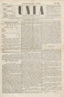 Unia. [R.2], nr 2 (4 stycznia 1870)