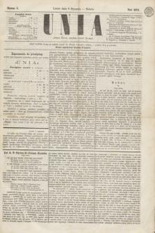 Unia. [R.2], nr 4 (8 stycznia 1870)