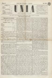 Unia. [R.2], nr 6 (13 stycznia 1870)
