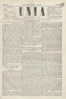 Unia. [R.2], nr 8 (18 stycznia 1870)