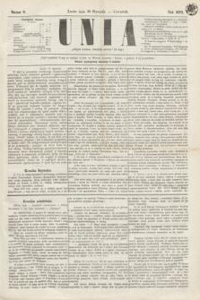 Unia. [R.2], nr 9 (20 stycznia 1870)