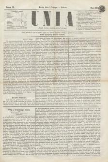 Unia. [R.2], nr 16 (5 lutego 1870)