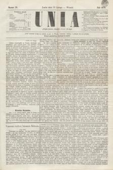 Unia. [R.2], nr 20 (15 lutego 1870)