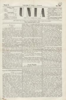 Unia. [R.2], nr 21 (17 lutego 1870)
