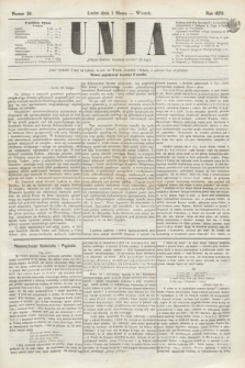 Unia. [R.2], nr 26 (1 marca 1870)