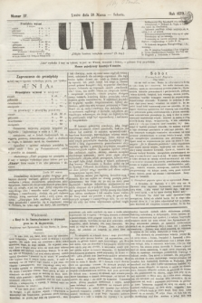 Unia. [R.2], nr 37 (26 marca 1870)