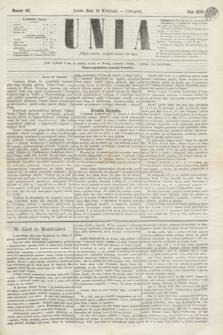 Unia. [R.2], nr 45 (14 kwietnia 1870)
