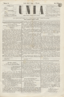 Unia. [R.2], nr 53 (3 maja 1870)
