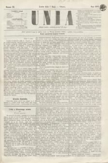 Unia. [R.2], nr 55 (7 maja 1870)