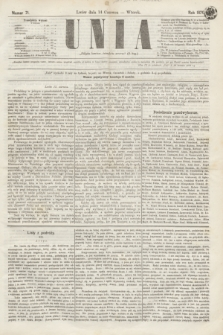 Unia. [R.2], nr 71 (14 czerwca 1870)