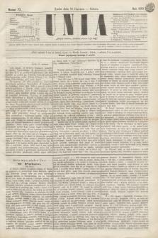 Unia. [R.2], nr 73 (18 czerwca 1870)