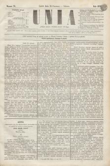 Unia. [R.2], nr 76 (25 czerwca 1870)