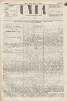 Unia. [R.2], nr 79 (2 lipca 1870)