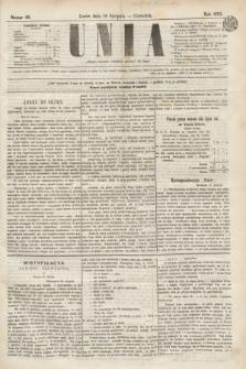 Unia. [R.2], nr 99 (18 sierpnia 1870)