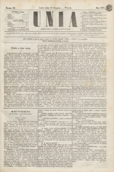 Unia. [R.2], nr 101 (23 sierpnia 1870)