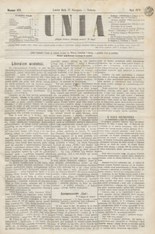 Unia. [R.2], nr 103 (27 sierpnia 1870)