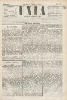 Unia. [R.2], nr 107 (6 września 1870)