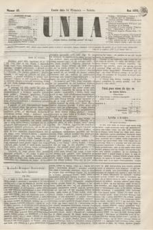 Unia. [R.2], nr 115 (24 września 1870)
