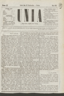 Unia. [R.2], nr 127 (22 października 1870)