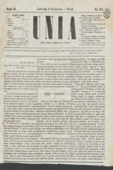 Unia. [R.2], nr 128 (25 października 1870)