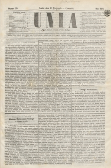 Unia. [R.2], nr 135 (10 listopada 1870)