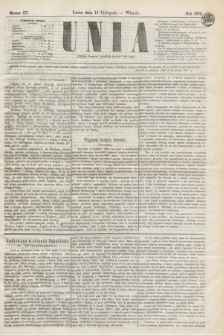 Unia. [R.2], nr 137 (15 listopada 1870)