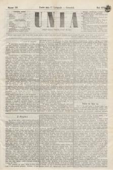 Unia. [R.2], nr 138 (17 listopada 1870)