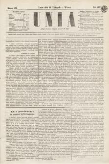 Unia. [R.2], nr 143 (29 listopada 1870)