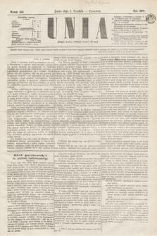 Unia. [R.2], nr 144 (1 grudnia 1870)