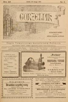 Gorzelnik : organ Towarzystwa Gorzelników Polskich we Lwowie. R. 14, 1901, nr2