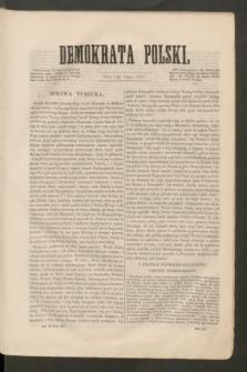Demokrata Polski. R.14 [!], ark. 18 (13 lipca 1853)