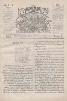 Rolnik : rolnictwo, przemysł, prawo. R.1, nr 2 (8 stycznia 1869) + dod.
