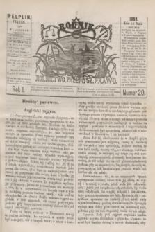 Rolnik : rolnictwo, przemysł, prawo. R.1, nr 20 (14 maja 1869)