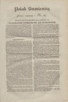Polak Sumienny : pismo czasowe. 1830, N. 15 (21 grudnia)
