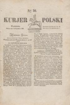 Kurjer Polski. 1830, Nro 50 (23 stycznia)