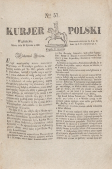 Kurjer Polski. 1830, Nro 57 (30 stycznia)