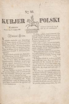 Kurjer Polski. 1830, Nro 80 (23 lutego)