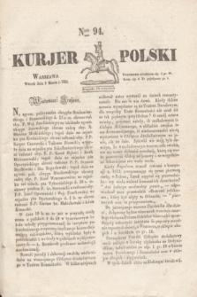 Kurjer Polski. 1830, Nro 94 (9 marca)