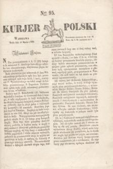 Kurjer Polski. 1830, Nro 95 (10 marca)