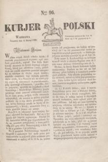 Kurjer Polski. 1830, Nro 96 (11 marca)