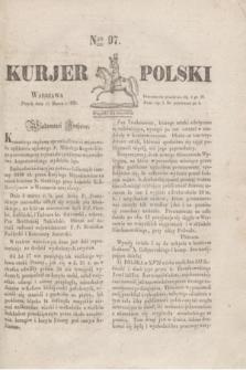 Kurjer Polski. 1830, Nro 97 (12 marca)