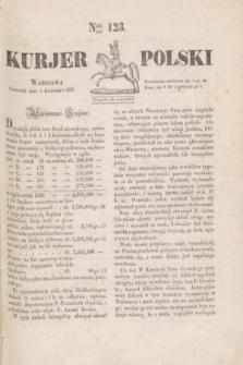 Kurjer Polski. 1830, Nro 123 (8 kwietnia)