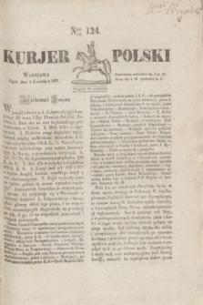 Kurjer Polski. 1830, Nro 124 (9 kwietnia)