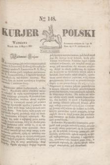 Kurjer Polski. 1830, Nro 148 (4 maja)