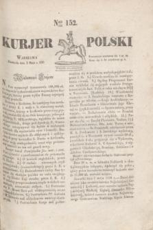 Kurjer Polski. 1830, Nro 152 (9 maja)