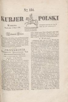 Kurjer Polski. 1830, Nro 154 (11 maja )