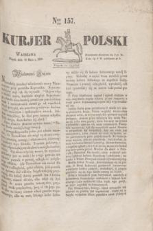 Kurjer Polski. 1830, Nro 157 (14 maja)