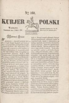 Kurjer Polski. 1830, Nro 160 (17 maja)